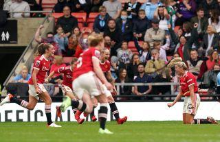 Manchester United v Manchester City – FA Women's Super League – Leigh Sports Village