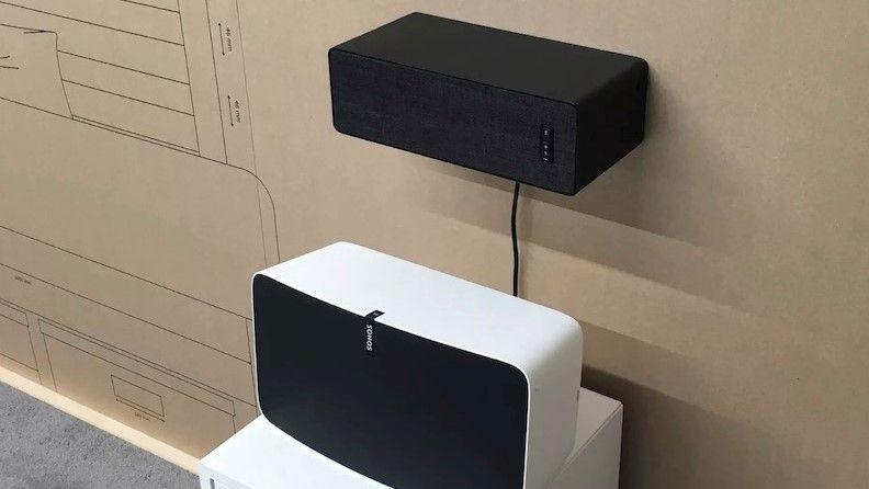 Ikea's smart speaker prototype doubles as a shelf