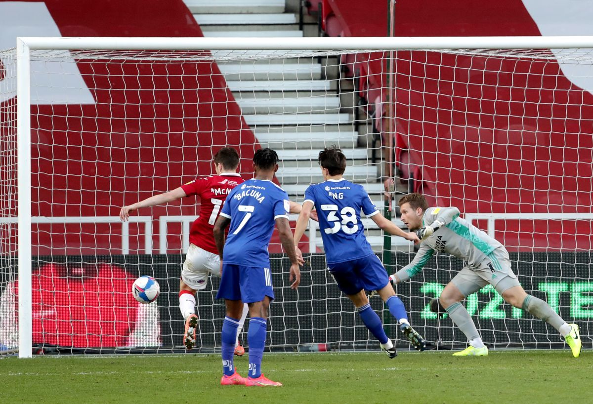 Paddy McNair rescues draw for Middlesbrough against Cardiff