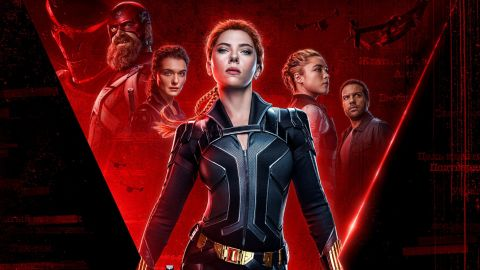 Scarlett Johansson and the cast of 'Black Widow.'