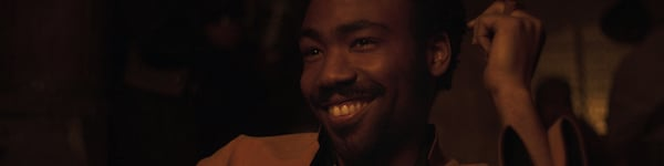 Donald Glover as Lando in Solo A Star Wars Story