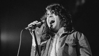 Ian Gillan onstage in March 1973, three months before leaving Deep Purple