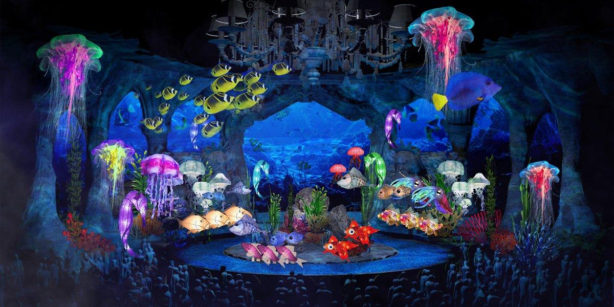 The Little Mermaid Live! set ABC