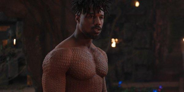 Michael B Jordan Black Panther Erik Killmonger scars