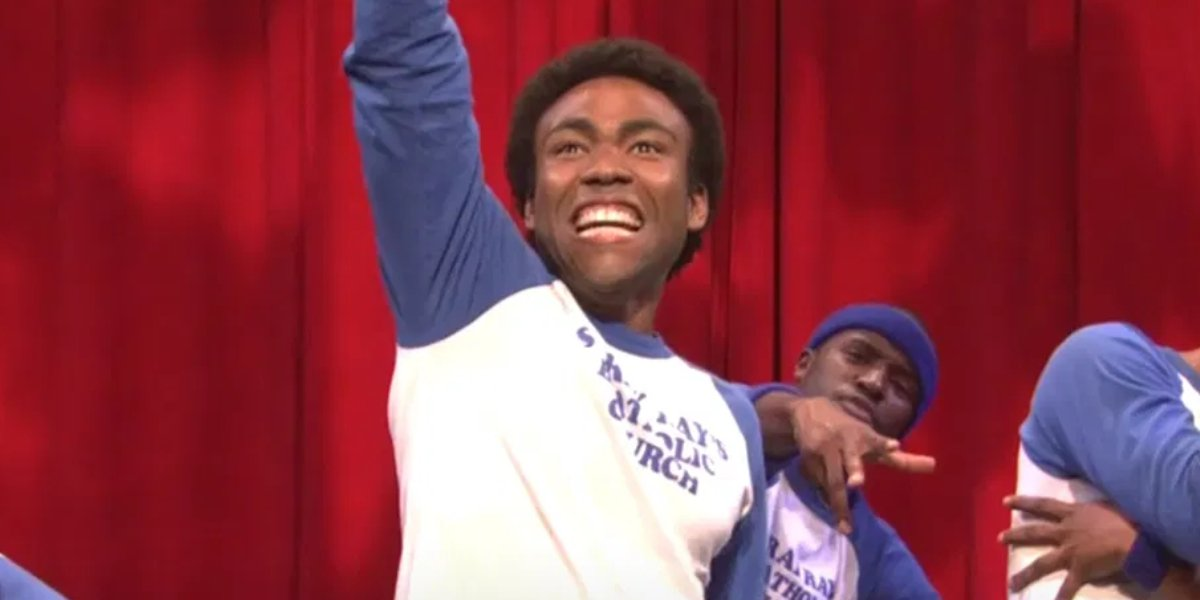 Donald Glover on 30 Rock