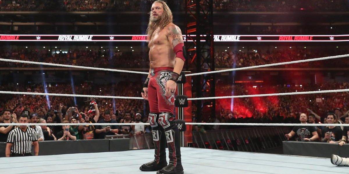 Edge at the Royal Rumble