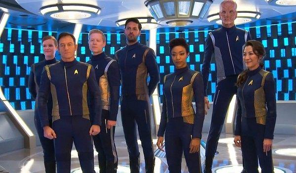 Star Trek: Discovery Season 1 Cast CBS All Access