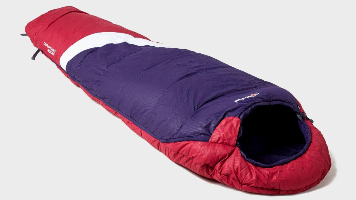 Berghaus Women's Transition sleeping bag review: a cheap and cheerful sleeping bag for summer camping