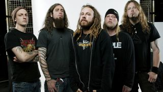 Stromblad, 2nd right, with In Flames