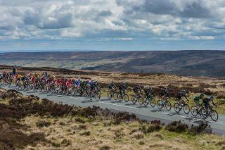 A view of the Tour de Yorkshire