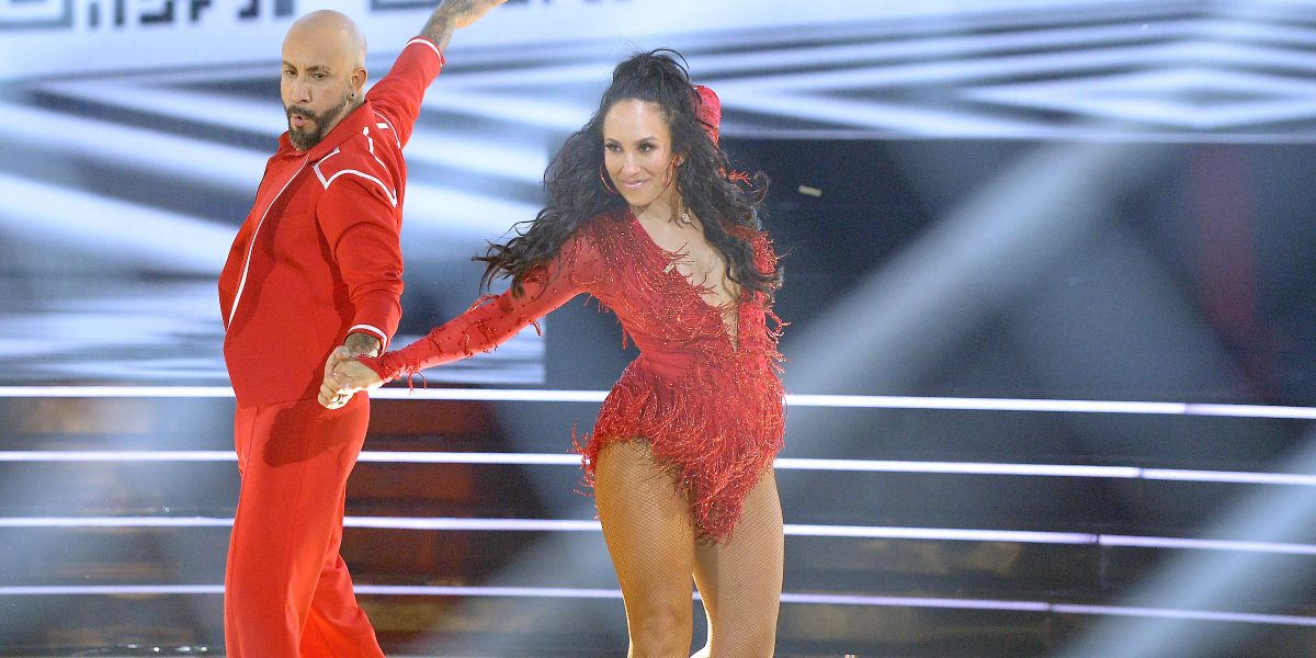 Dancing with the Stars AJ McLean Cheryl Burke ABC