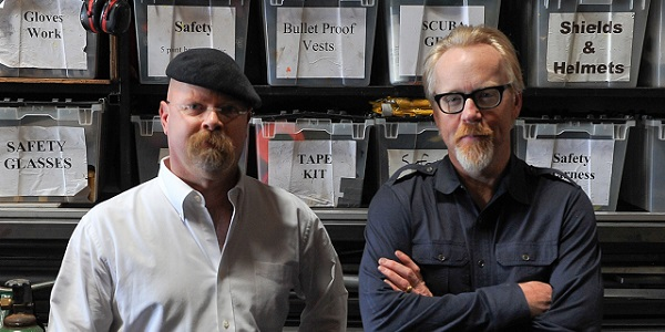 TIL Mythbusters has saves lives: a woman trapped in her car as it filled with water recalled the episode with the Underwater Car Myth and waited until the pressure equalized to open the door.