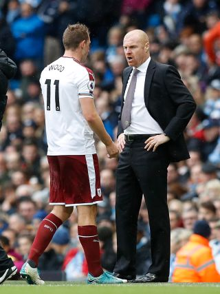 Chris Wood and Sean Dyche