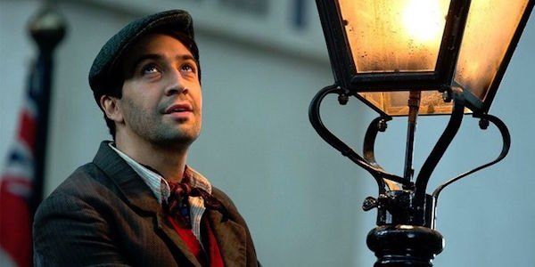 Lin-Manuel Miranda as Jack the Lamplighter in Mary Poppins Returns