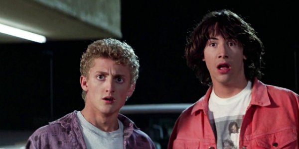 Bill And Ted Keanu Reeves Alex Winter