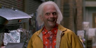 Christopher Lloyd in Back to the Future Part II