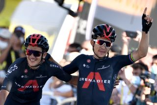Former road race world champion Michal Kwiatkowski's 2020 Tour de France stage victory in La Roche-sur-Foron on stage 18 was the Polish rider's first Grand Tour stage win of his career
