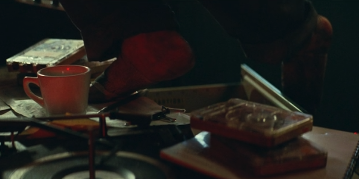 Quiet Place Part II squeaky drawer scare