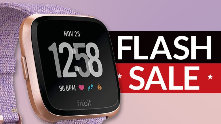 Cheap Fitbit Versa fitness smartwatch deal