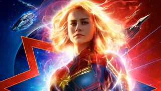 A screen from the Captain Marvel poster