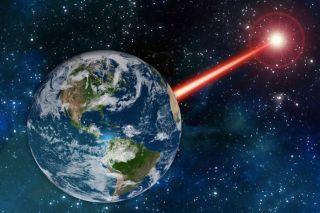 Laser alien signal