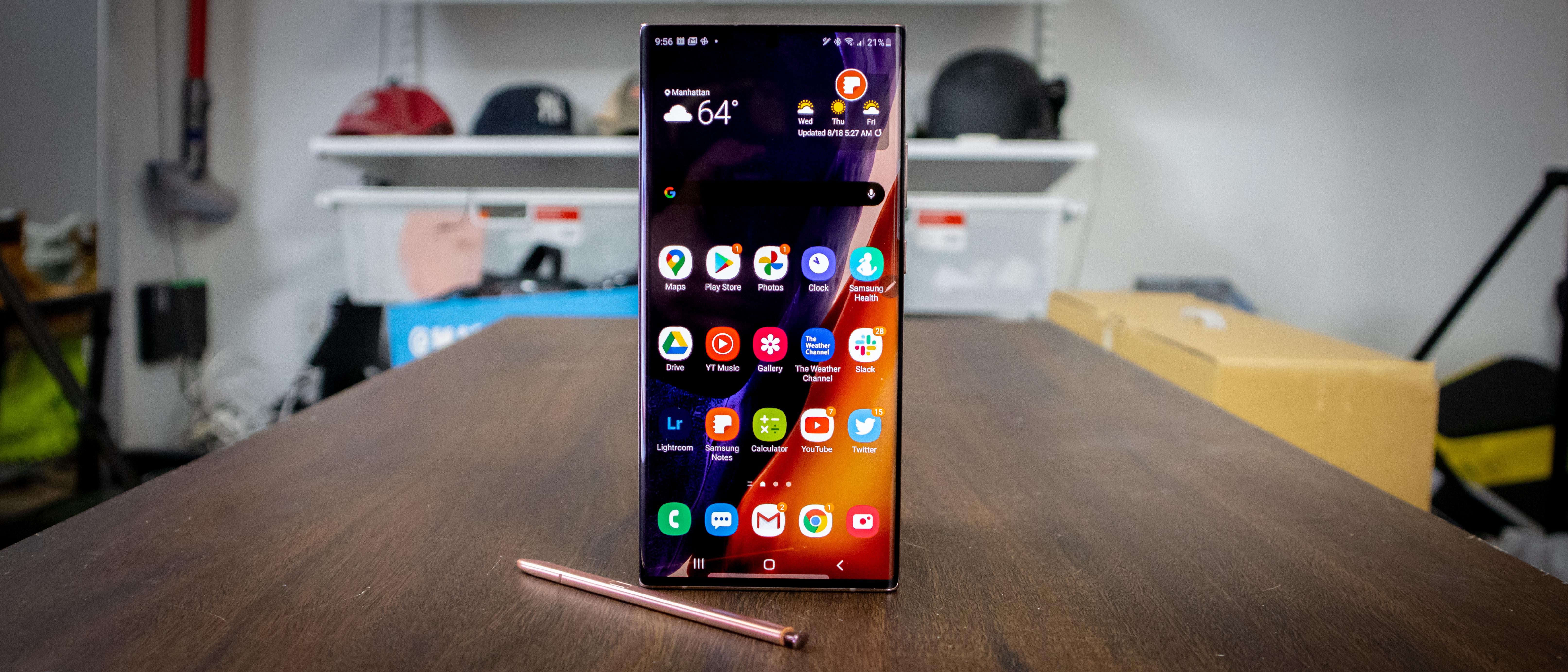 Samsung Galaxy Note 20 Ultra Review Techradar
