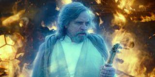 Luke in The Rise of Skywalker
