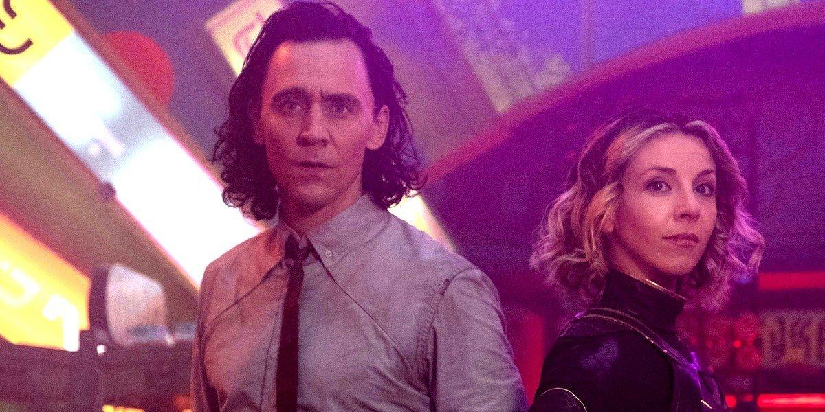 Tom Hiddleston and Sophia Di Martino on Loki