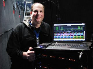 Sound Engineer Commands Frequency Management Using IWX