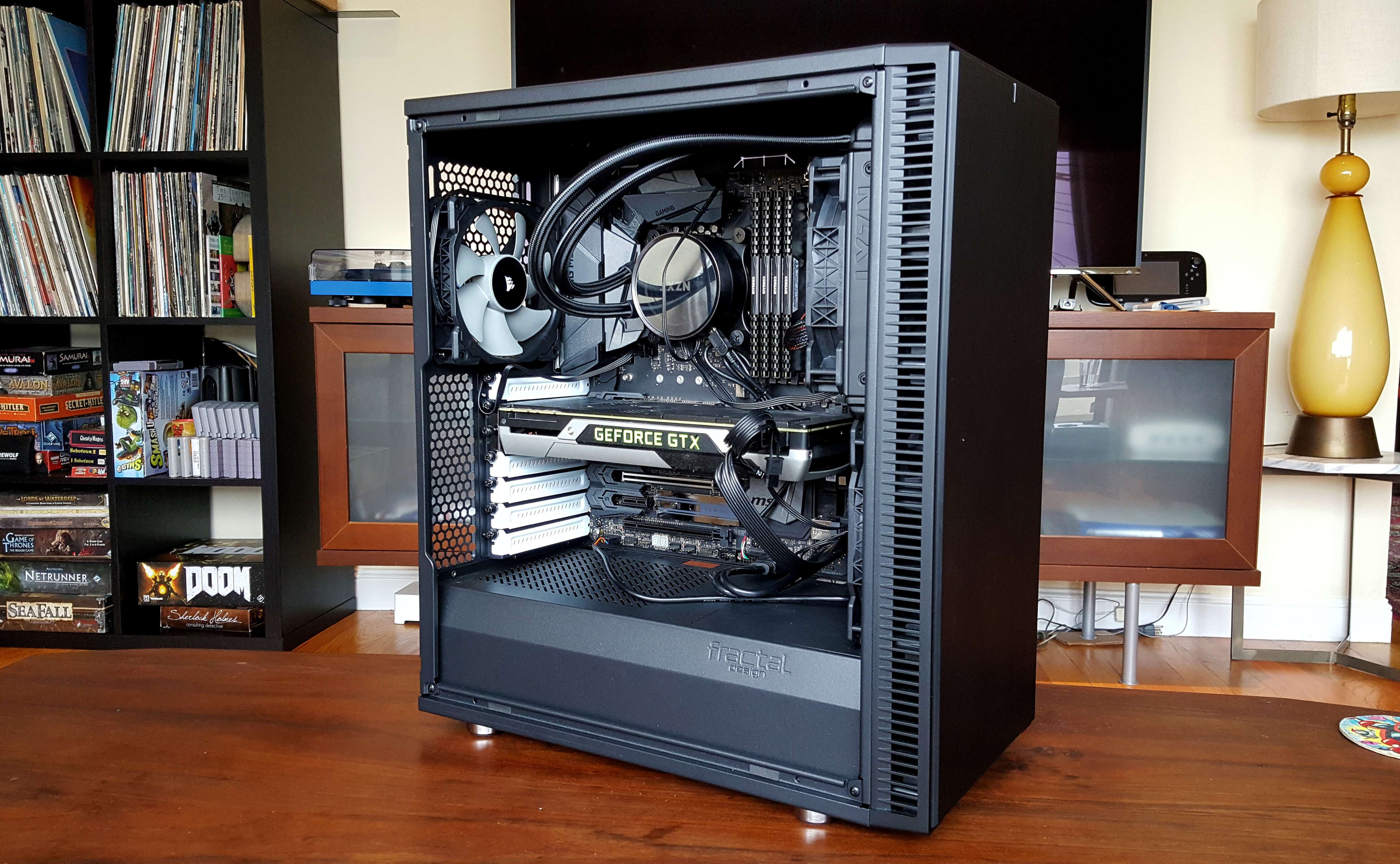 My Quest To Build A Silent Gaming Pc Gamer Casing Open Air Mini Itx Mikro Atx