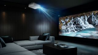 LG CineBeam HU810P 4K projector brings the cinema home