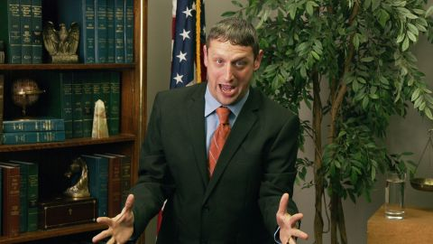 """Tim Robinson in """"I Think You Should Leave""""."""
