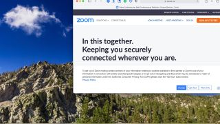 Zoom website on macOS Big Sur