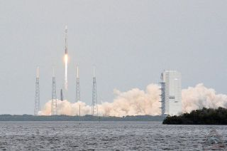MAVEN Launch With Vertical Integration Facility