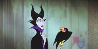 Screenshot of Maleficent from Sleeping Beauty