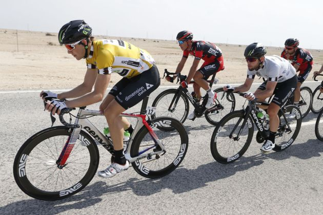 Edvald Boasson Hagen during stage four of the 2016 Tour of Qatar