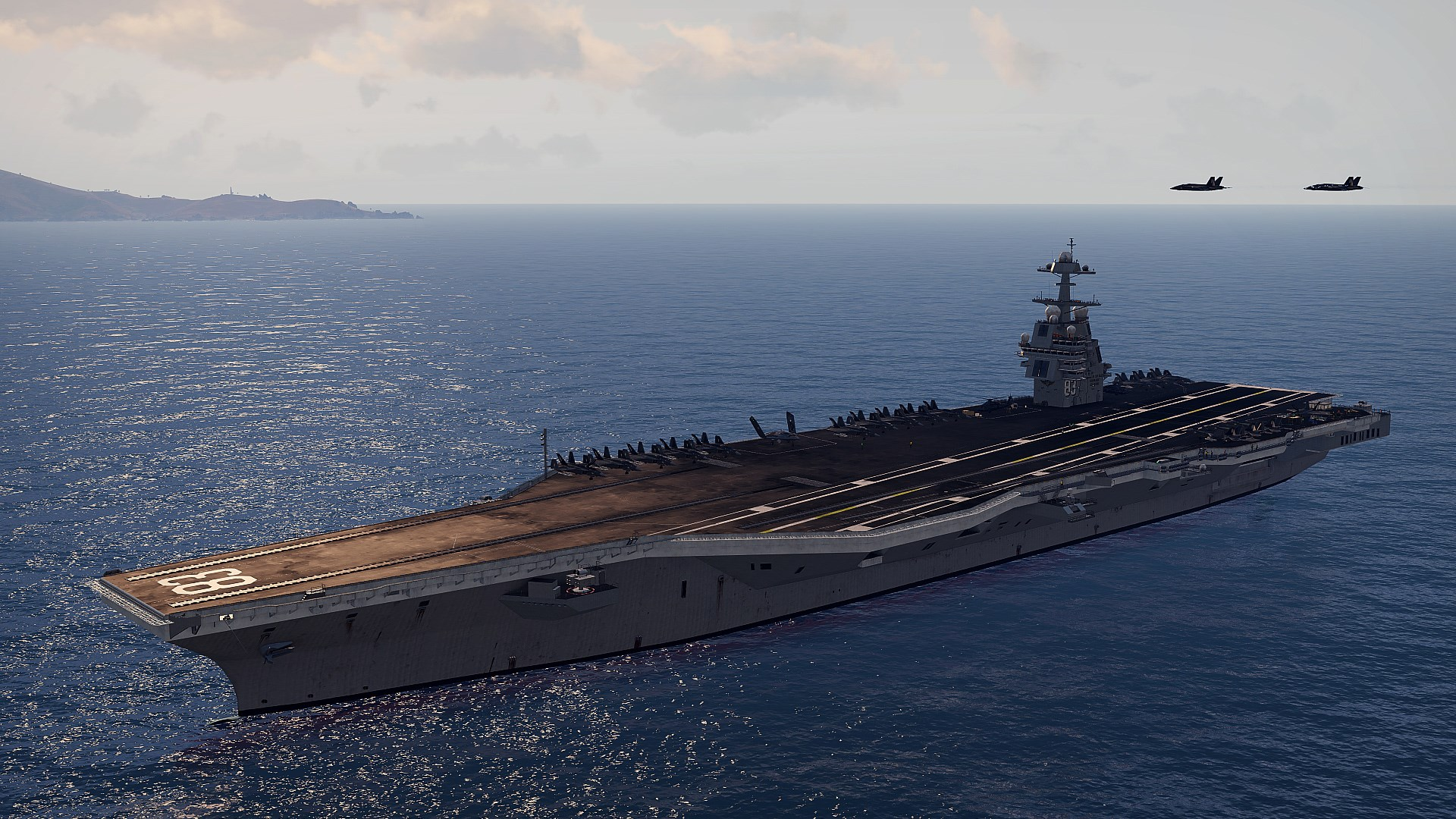 Arma 3 is getting new aircraft, and an enormous carrier to