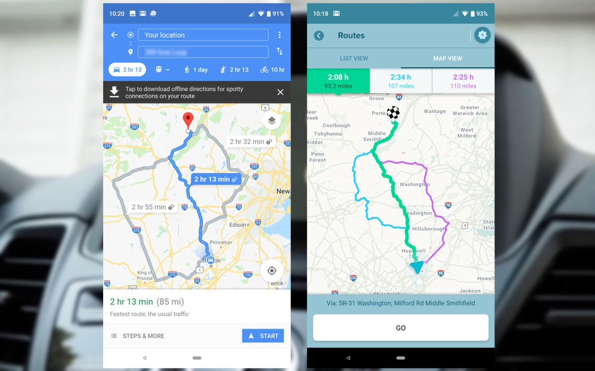 Google Maps vs Waze: Which Is Better for You? | Tom's Guide