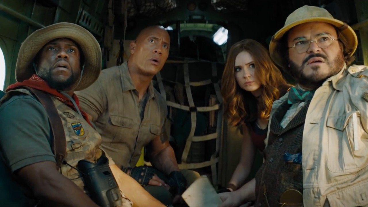 Following The Hit Dwayne Johnson And Kevin Hart Movies, Jumanji Is Getting Its Own Theme Park Ride