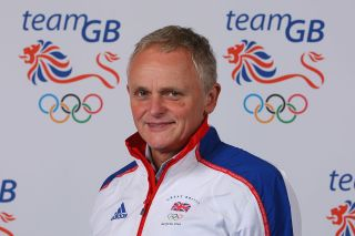 Cycling team doctor Steve Peters of the British Olympic Team