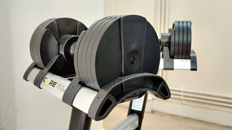 Core Fitness Adjustable Dumbbell and Stand review