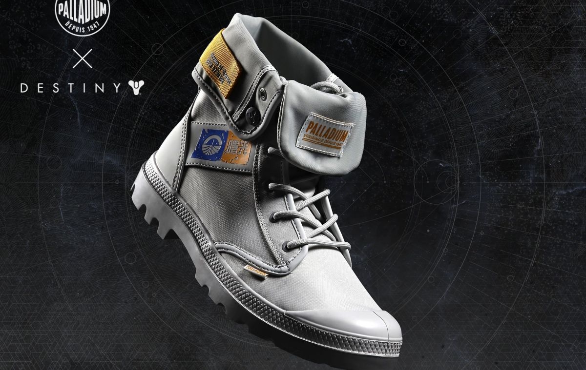 Official Destiny Palladium boots are on the way