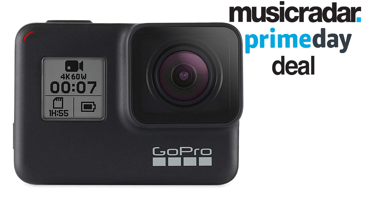 Prime Day deal: Save over £60 on a GoPro HERO 7 Black edition camera | MusicRadar
