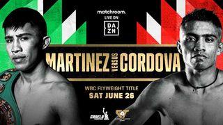 DAZN presents Martinez vs. Cordova