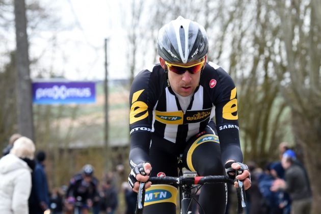 Matt Brammeier in the 2015 Omloop Het Nieuwsblad