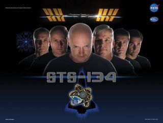 "This shuttle mission (STS-134) can't go wrong with a poster parodying a movie reboot of the 1960s cult hit ""Star Trek."""