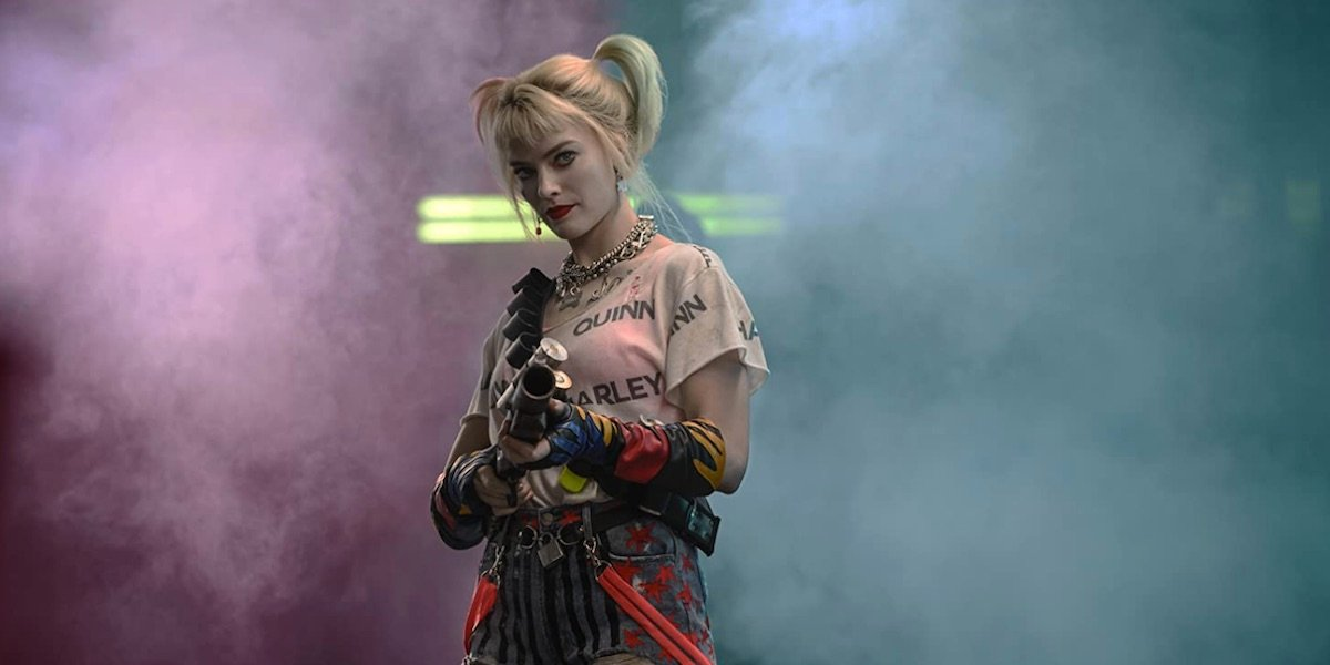 Harley with her non-lethal weapon