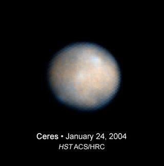 Hubble photo Ceres
