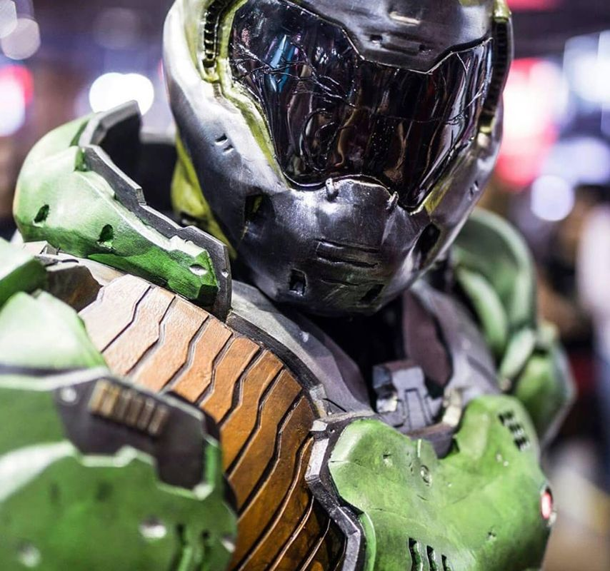 Meet the man inside this incredible Doom cosplay | PC Gamer