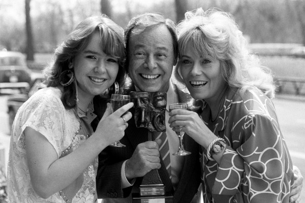 Susan Tully, Bill Treacher and Wendy Richard